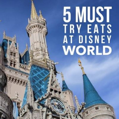 Five Must-Try Treats You'll Only Find At Disney World