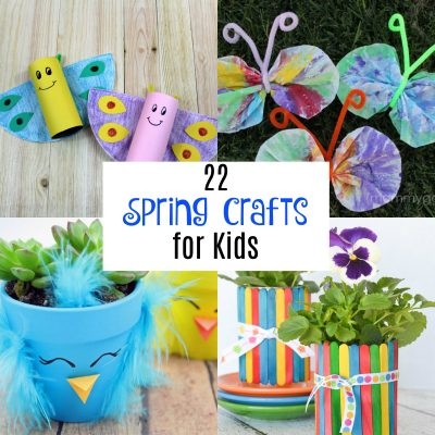 22 Spring Crafts For Kids