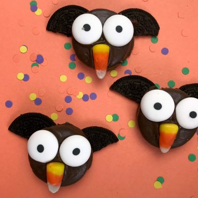 Oreo Bats Fall Fun Snack