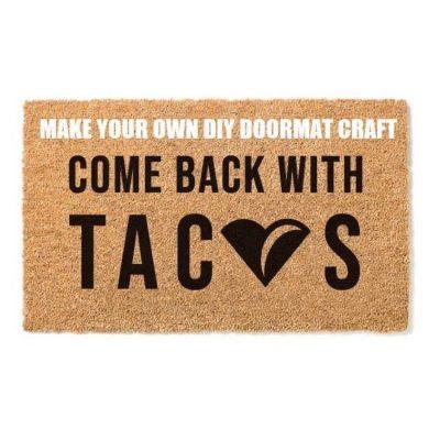 Make Your Own DIY Doormat