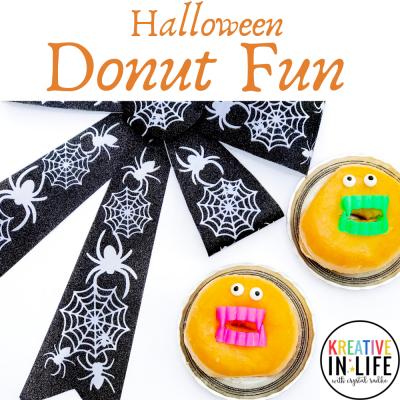 Halloween Donut Fun