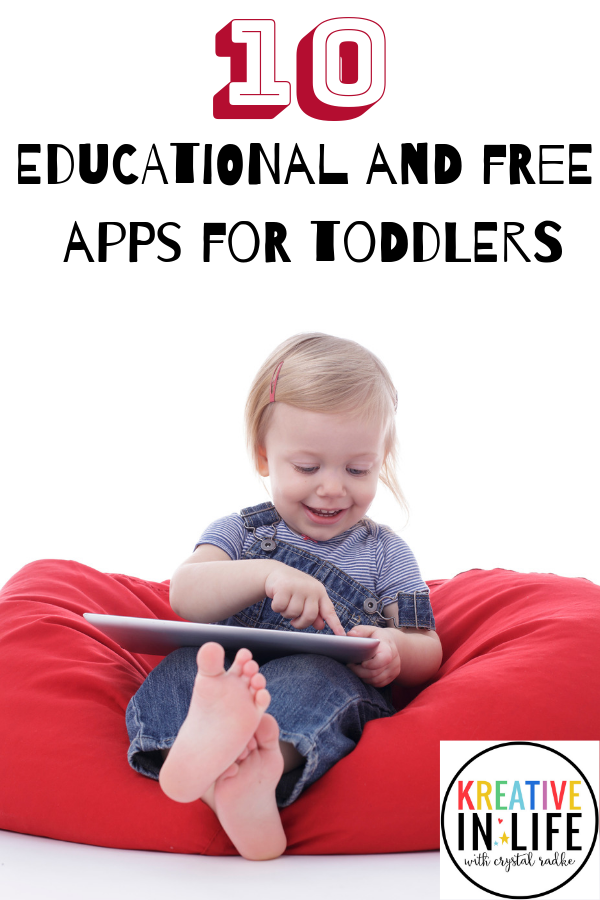 Educational and free apps for toddlers