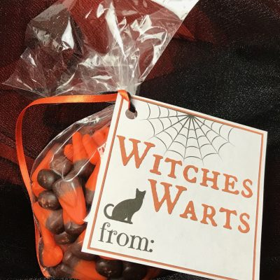 Free Halloween Treat Bag Tags