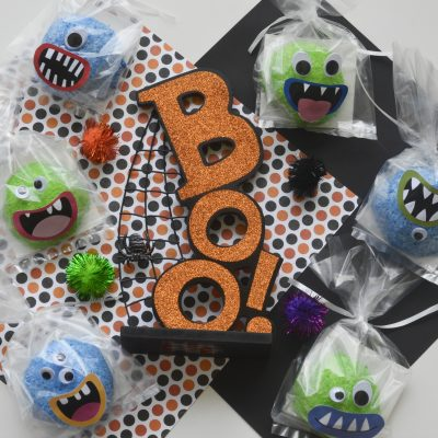 Halloween Snowball Monsters
