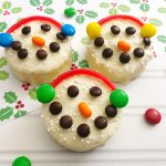 Snowman Treat {No Bake} For Kids