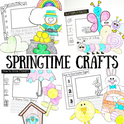 Spring Crafts for Young Learners