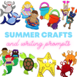 Summer Crafts and Writing Prompts
