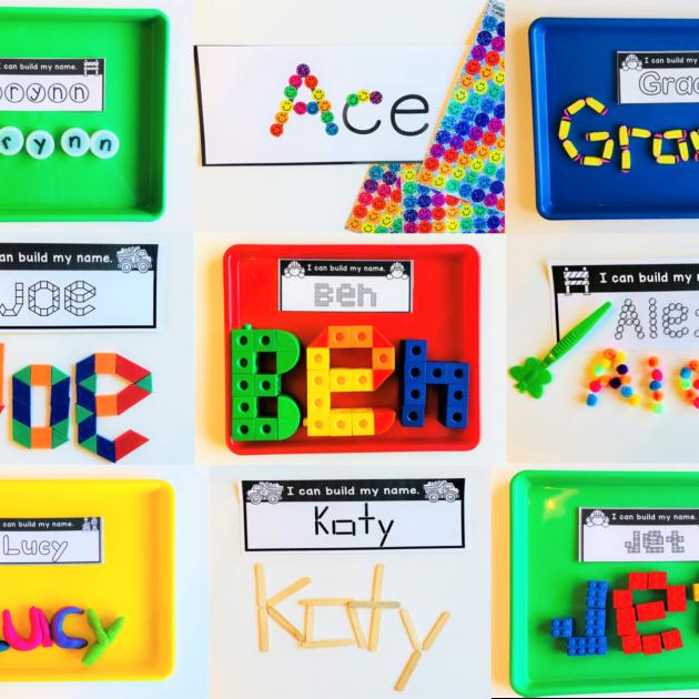 teaching names