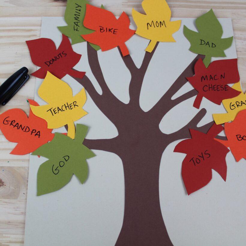 tree of thankfulness