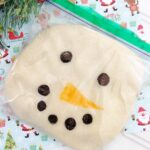 Snowman Play Dough