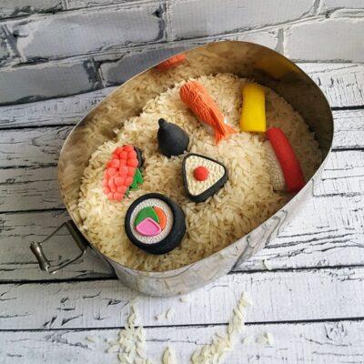 Sushi Sensory Bin
