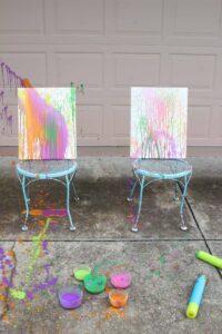 splatterpainonchairs