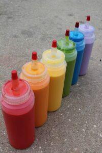 chalk paint squeeze bottles