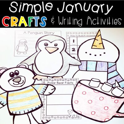 Winter Crafts For Young Learners