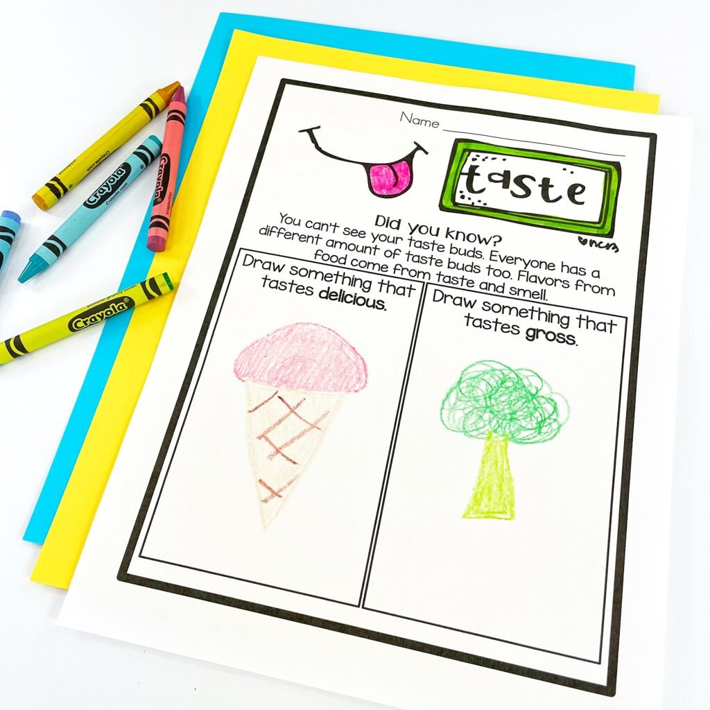 Teaching Kids About Their Senses: Taste