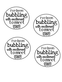 Bubble gift for students