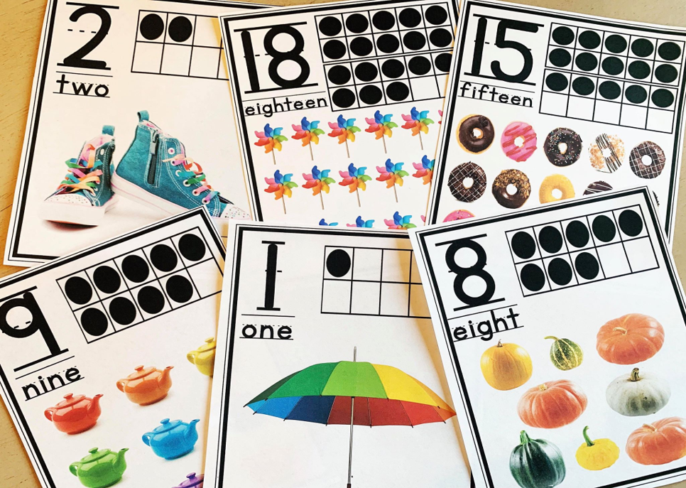 Teaching Number Sense: Number Posters