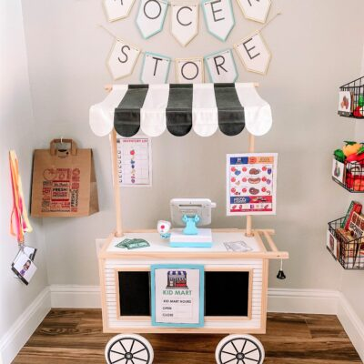 Creating a Grocery Store Dramatic Play Center