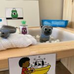 Learning in a Pet Vet Animal Hospital Dramatic Play Center