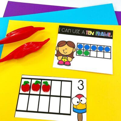 Simple Math Strategies for Kindergarten